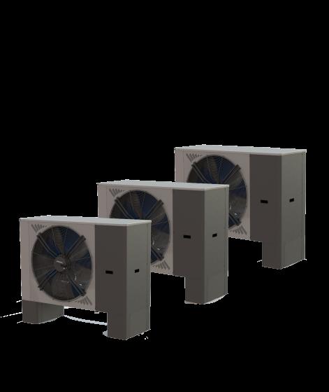 Multikita – kaskádové řešení tepelných čerpadel